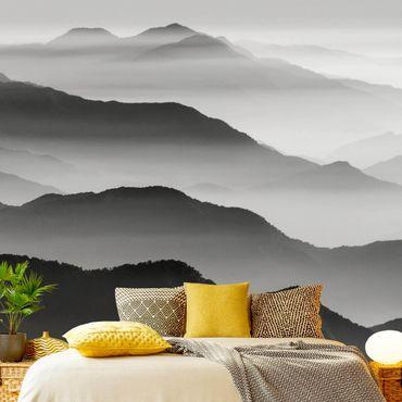 Carta da parati - Montagna nella nebbia
