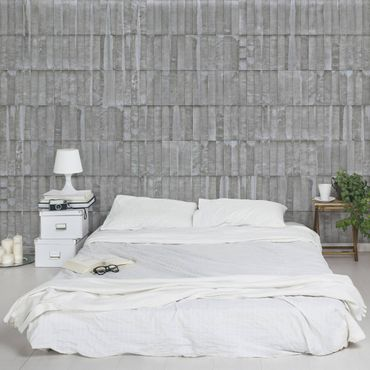 Carta da parati - Concrete Wallpaper - Upright Concrete Slab