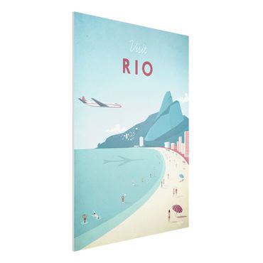 Stampa su Forex - Poster Travel - Rio De Janeiro - Verticale 4:3