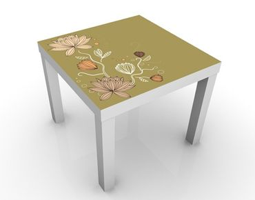 Tavolino design Art Nouveau Flower