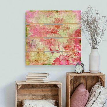 Stampa su legno - Forgotten Beauties II - Quadrato 1:1