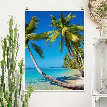 Poster - Spiaggia di Thailandia - Verticale 4:3