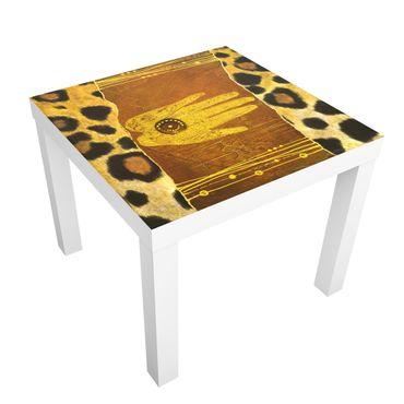 Carta adesiva per mobili IKEA - Lack Tavolino African Feelings