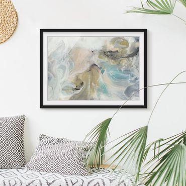 Poster con cornice - Tide With Flotsam II - Orizzontale 3:4