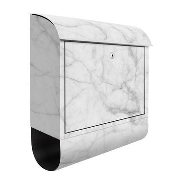 Cassetta postale - Bianco Carrara 39x46x13cm