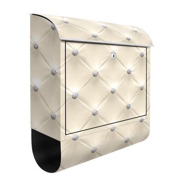 Cassetta postale - Diamond Cream Luxury 39x46x13cm