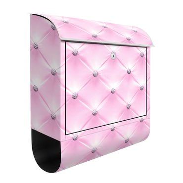 Cassetta postale - Diamond Luxury Pink 39x46x13cm