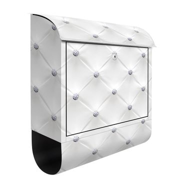 Cassetta postale - Diamond White Luxury 39x46x13cm