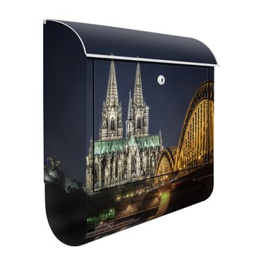 Cassetta postale Kölner Dom 39x46x13cm