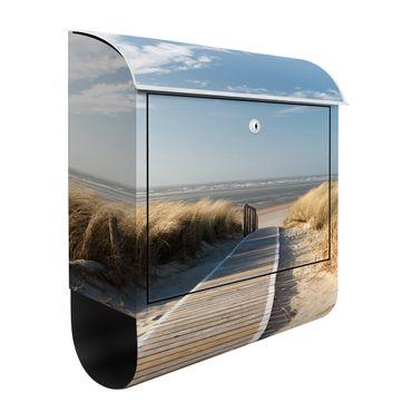 Cassetta postale Baltic Sea beach 39x46x13cm