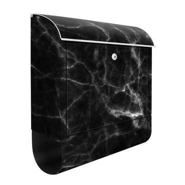 Cassetta postale - Nero Carrara 39x46x13cm