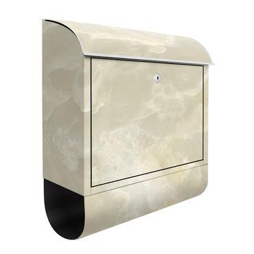 Cassetta postale - Onyx Marble Cream 39x46x13cm