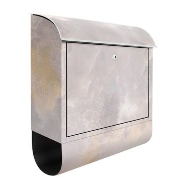 Cassetta postale - Onyx Marble Gray 39x46x13cm