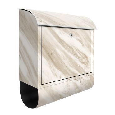 Cassetta postale - Palissandro Marble Beige 39x46x13cm