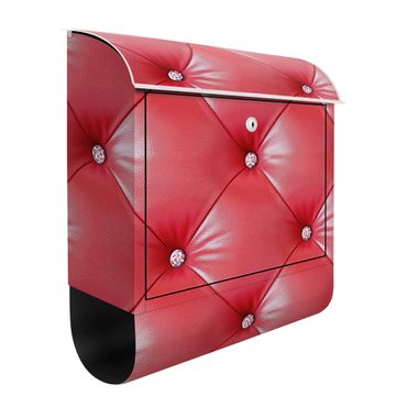 Cassetta postale - Red Cushion 39x46x13cm