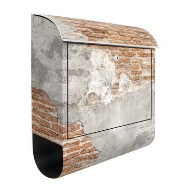 Cassetta postale - Shabby Brick Wall 39x46x13cm
