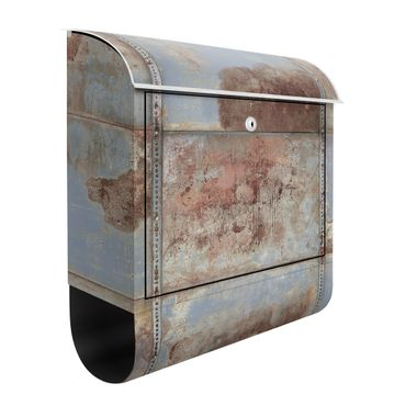 Cassetta postale Shabby Industrial Metal Optics 39x46x13cm