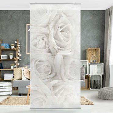 Tenda a pannello White Roses 250x120cm