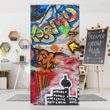 Tenda a pannello Urban Graffiti 250x120cm