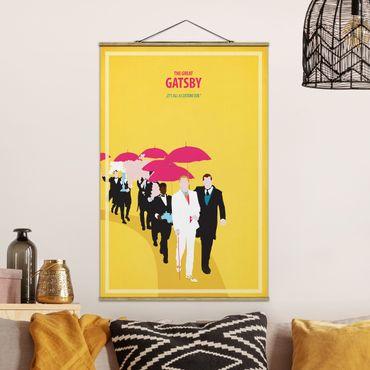 Foto su tessuto da parete con bastone - Poster del film Il Grande Gatsby II - Verticale 3:2