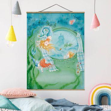 Foto su tessuto da parete con bastone - Matilda è un acrobata - Verticale 4:3