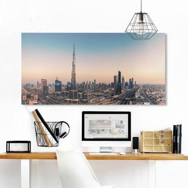 Stampa su tela - Serata A Dubai - Orizzontale 2:1