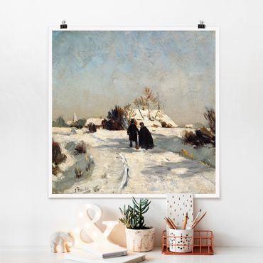 Poster - Otto Modersohn - Capodanno - Quadrato 1:1