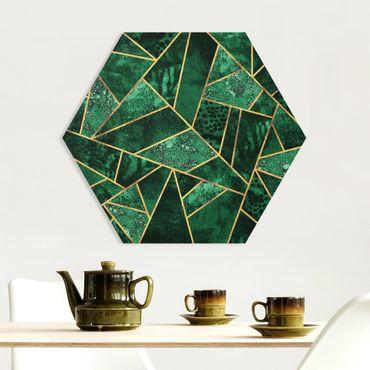 Esagono in forex - Dark Emerald con oro