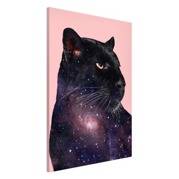 Lavagna magnetica - Panther Con Galaxy - Formato verticale 2:3