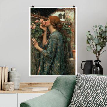 Poster - John William Waterhouse - L'anima della rosa - Verticale 3:2