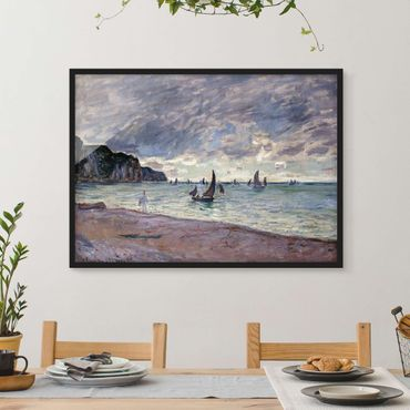 Poster con cornice - Claude Monet - Coast Of Pourville - Orizzontale 3:4