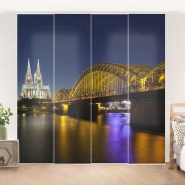 Tende scorrevoli set - Cologne At Night