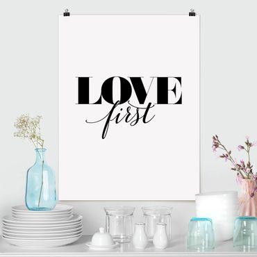 Poster - amore Prima - Verticale 4:3