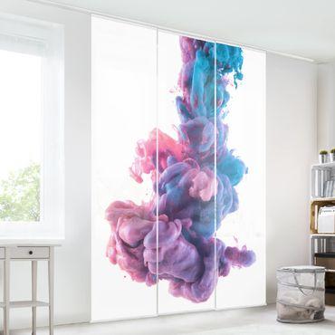 Tende scorrevoli set - Abstract Liquid Paint
