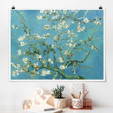 Poster - Vincent Van Gogh - Mandorlo in Fiore - Orizzontale 3:4