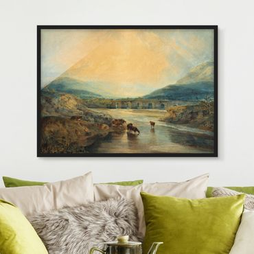 Poster con cornice - William Turner - Clearing Up - Orizzontale 3:4