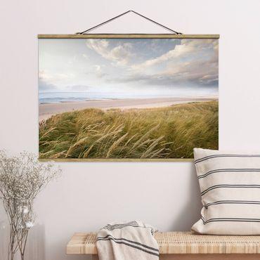 Foto su tessuto da parete con bastone - dune di sogno - Orizzontale 2:3