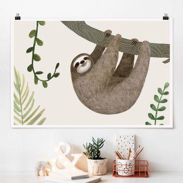 Poster - Sloth Proverbi - Hang - Orizzontale 2:3