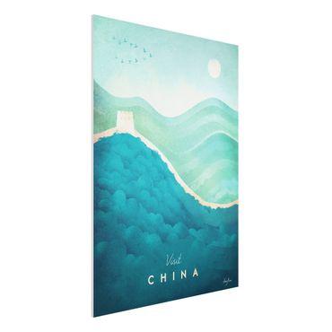 Stampa su Forex - Poster di viaggio - Cina - Verticale 4:3