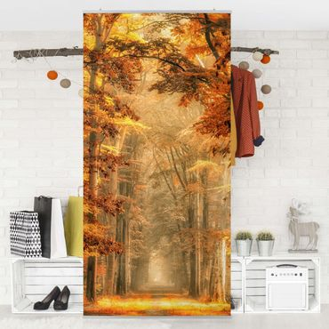 Tenda a pannello - Fairy Forest in Autumn - 250x120cm