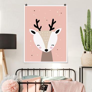 Poster - felice Deer - Verticale 4:3