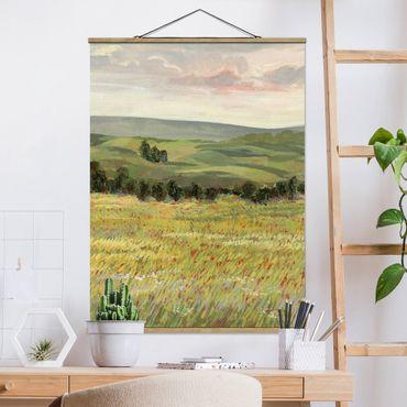 Foto su tessuto da parete con bastone - Prato Morning II - Verticale 4:3