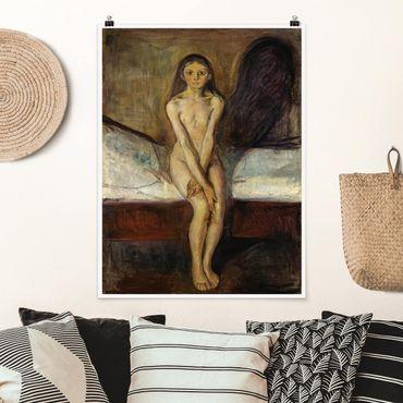 Poster - Edvard Munch - Pubertà - Verticale 4:3