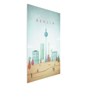 Stampa su Forex - Poster viaggio - Berlino - Verticale 3:2
