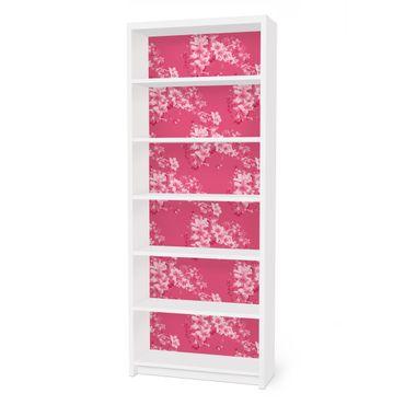 Carta adesiva per mobili IKEA - Billy Libreria - Antique Flower Pattern