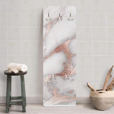 Appendiabiti - Marmo Ottica con glitter