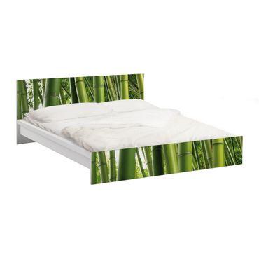 Carta adesiva per mobili IKEA - Malm Letto basso 140x200cm Bamboo Trees No.1