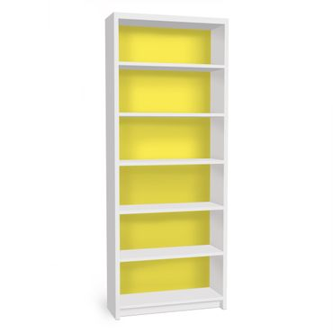 Carta adesiva per mobili IKEA - Billy Libreria - Colour Lemon Yellow