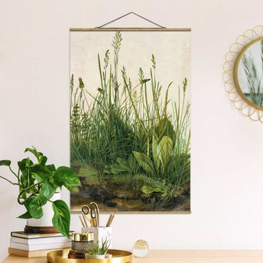 Foto su tessuto da parete con bastone - Albrecht Durer - The Great Lawn - Verticale 3:2