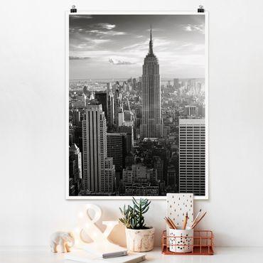 Poster - skyline di Manhattan - Verticale 4:3